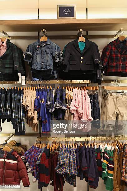 83ddbe841 General atmosphere at the Tommy Hilfiger store as Tommy Hilfiger and Young  at Art Partner to