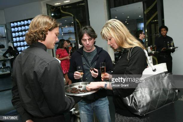 "General atmosphere at the Versace Presents ""Chocolate and Champagne"" event on December 13, 2007 at Versace in Beverly Hills, California."