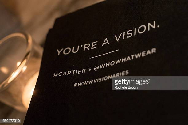 General atmosphere at the Who What Wear visionaries launch event at Ysabel on May 10 2016 in West Hollywood California
