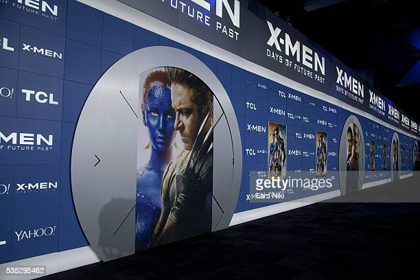 """General Atmosphere at the """"X-Men: Days of Future Past"""" global premiere at Jacob K. Javits Convention Center in New York City. © LAN"""