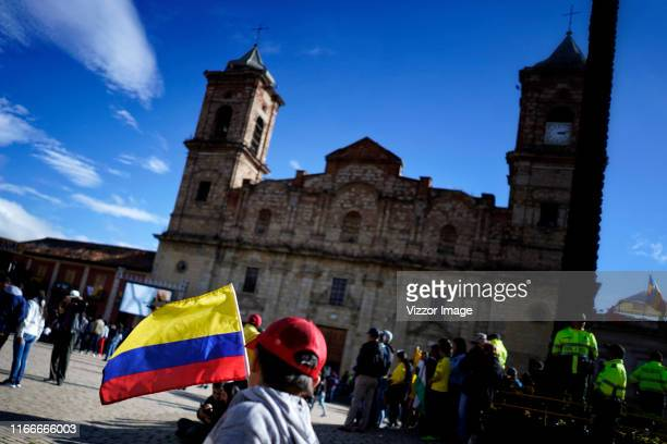 General atmosphere before the 106° Tour de France Champion welcome celebration on August 07, 2019 in Zipaquira, Colombia.