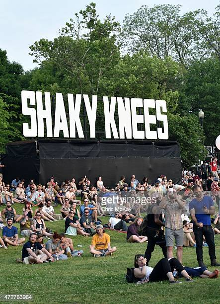 General atmosphere during day 1 of the 3rd Annual Shaky Knees Music Festival at Atlanta Central Park on May 8, 2015 in Atlanta City.