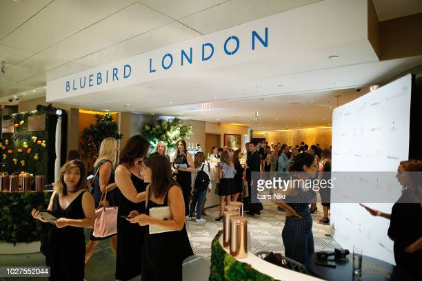 General atmosphere during the Bluebird London New York City launch party at Bluebird London on September 5 2018 in New York City