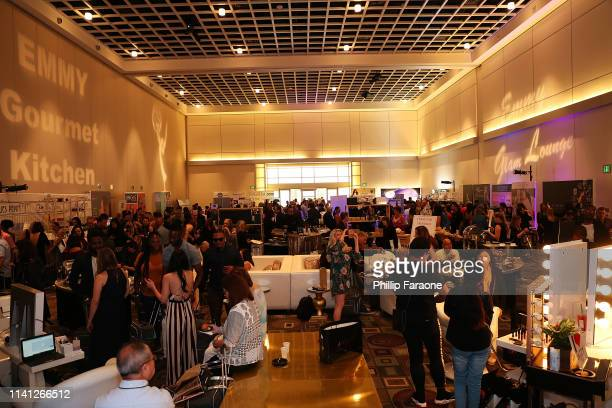 General atmosphere during the Daytime Emmy Awards PreAwards Networking Party/Gift Lounge at Pasadena Convention Center on May 4 2019 in Pasadena...