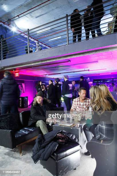 General atmosphere during the private opening of the Good Luck Dry Cleaners Bowery location at 3 East 3rd on December 19 2019 in New York City
