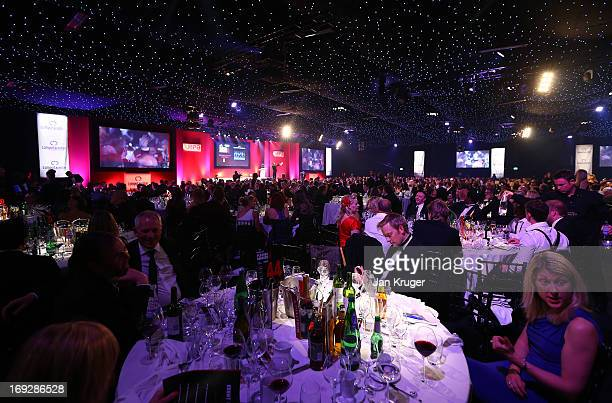 General atmosphere during The RPA awards at Battersea Evolution on May 22 2013 in London England