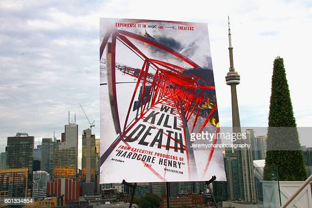 General atmosphere during the 'We Kill Death' film celebration reception on September 9 2016 in Toronto Canada