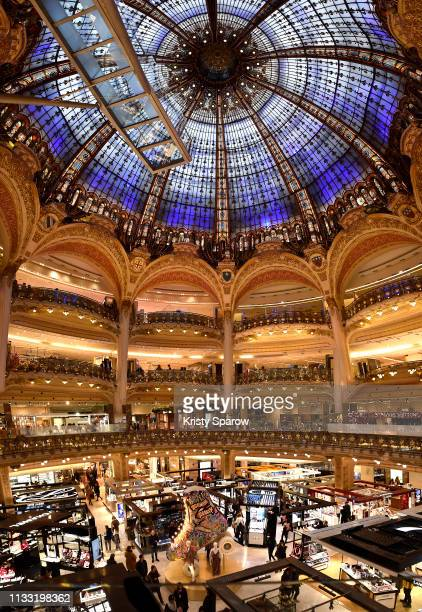 General atmosphere during Tommy Hilfiger TOMMYNOW Spring 2019 TommyXZendaya at The Galeries Lafayette on March 02 2019 in Paris France