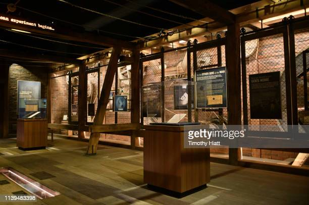 General atmosphere of selected rooms at the HAMILTON THE EXHIBITION WORLD PREMIERE at Northerly Island on April 26 2019 in Chicago Illinois