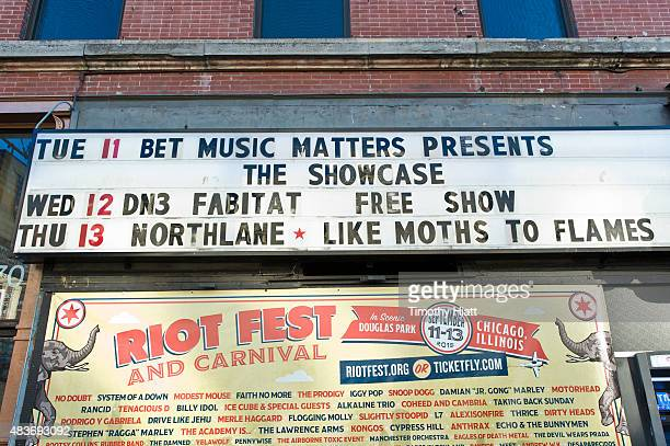 General atmosphere of the BET Showcase brought to you by Nissan at Double Door on August 11 2015 in Chicago Illinois