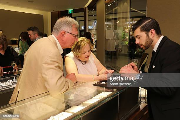 General atmosphere of the David Yurman instore event to celebrate the grand opening of the Edina boutique to benefit Open Arms of Minnesota at the...