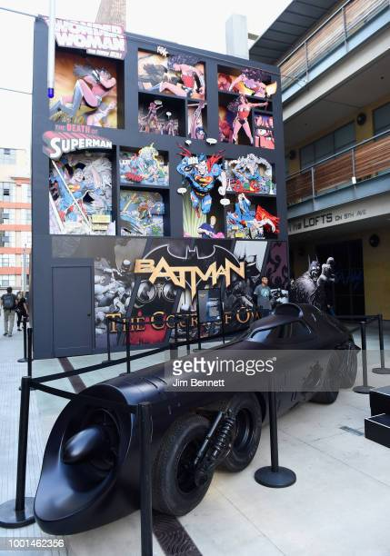 General atmosphere of the Doom Patrol lab at The DC UNIVERSE Experience at ComicCon International Preview Event on July 18 2018 in San Diego...
