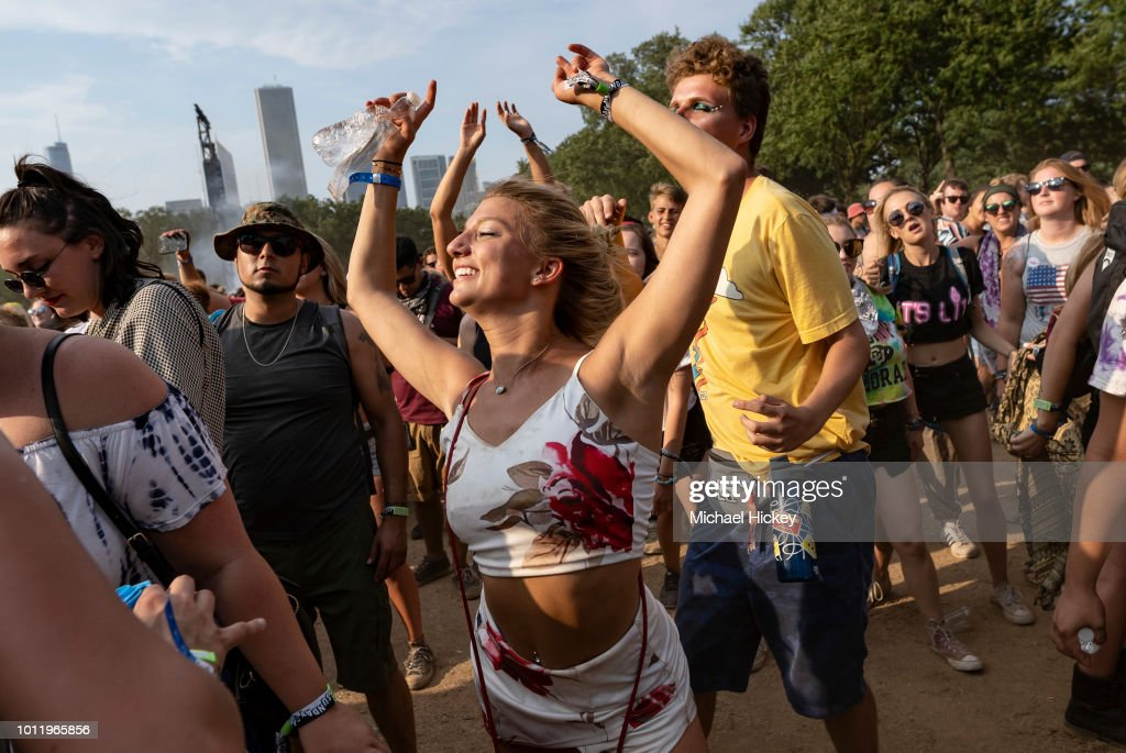 2018 Lollapalooza - Day 4 : News Photo