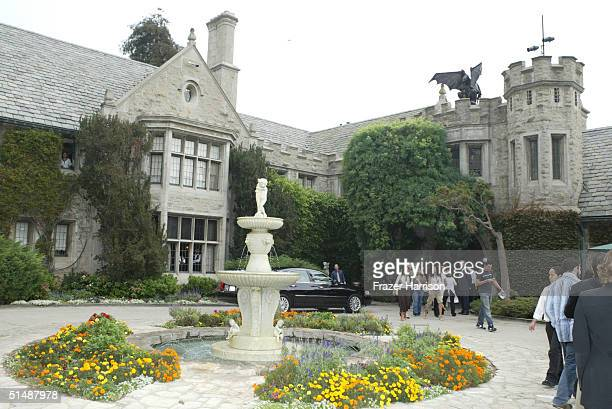 A general atmosphere shot at the 10th Annual Safari Brunch on October 16 2004 at the Playboy Mansion in Beverly Hills California