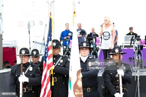 General atmosphere shot at the 6th Annual Tour de Pier at Manhattan Beach Pier on May 20 2018 in Manhattan Beach California