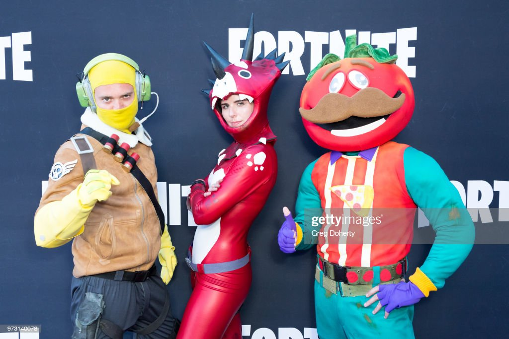 General atmosphere shot at the Epic Games Hosts Fortnite Party Royale on June 12, 2018 in Los Angeles, California.