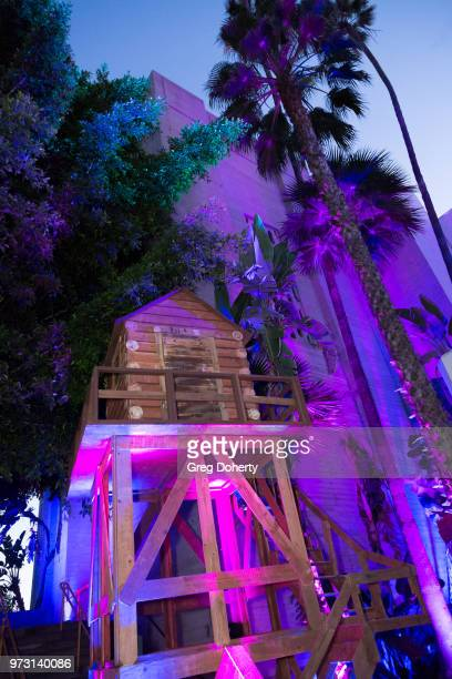 General atmosphere shot at the Epic Games Hosts Fortnite Party Royale on June 12 2018 in Los Angeles California
