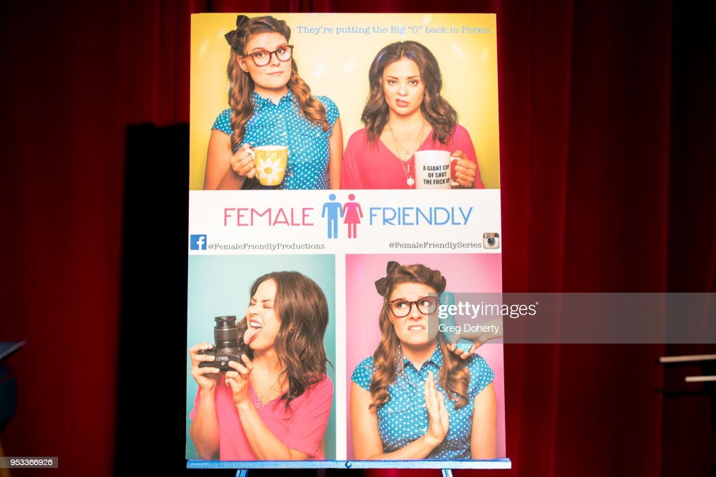 General atmosphere shot at the 'Female Friendly' Screening at The Three Clubs Hollywood Launching Now on April 30, 2018 in Los Angeles, California.