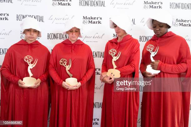 General atmosphere shot at the Los Angeles Confidential Emmys Celebration at Kimpton La Peer Hotel on September 16 2018 in West Hollywood California
