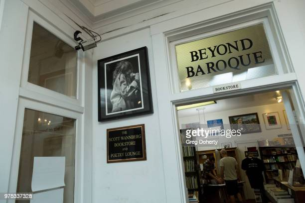 General atmosphere shot at The Quick In Conversation With Mark Hamill Earl Mankey And Lisa Fancher at Beyond Baroque Literary Arts Center on June 14...