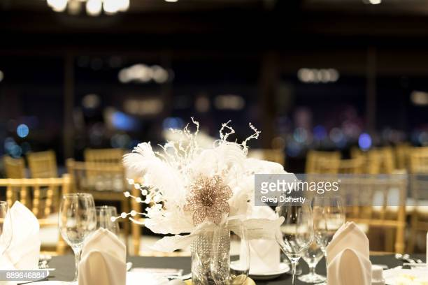 General atmosphere shot at The Thalians Hollywood for Mental Health Holiday Party 2017 at the Bel Air Country Club on December 09 2017 in Bel Air...