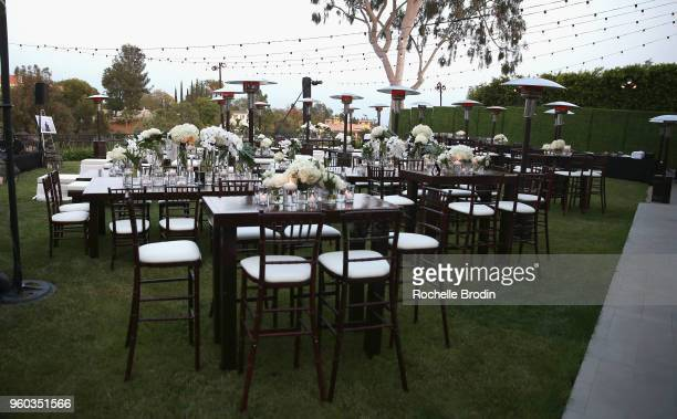 General atmosphere The Foundation for Living Beauty Dinner Under the Stars on May 19 2018 in Beverly Hills California