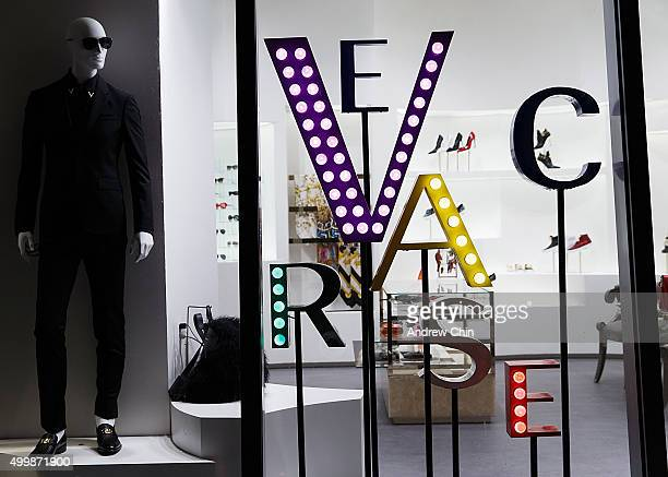 A general atmosphere view during Versace Vogue celebrate the launch of Versace Vancouver Boutique on December 3 2015 in Vancouver Canada