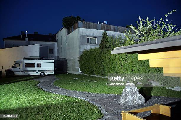 A general backside view of a house where a 73yearold man locked up his daughter in a basement for 24 years and had seven children with her seen on...
