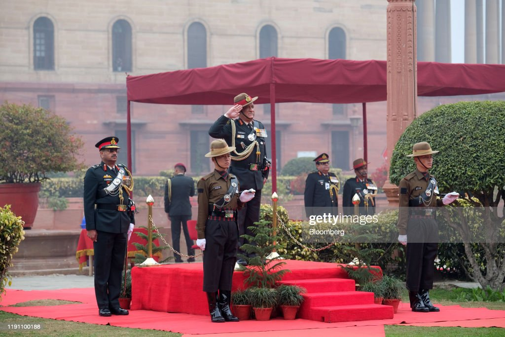 India Appoints Army Chief Rawat As Modis Top Military Adviser : News Photo