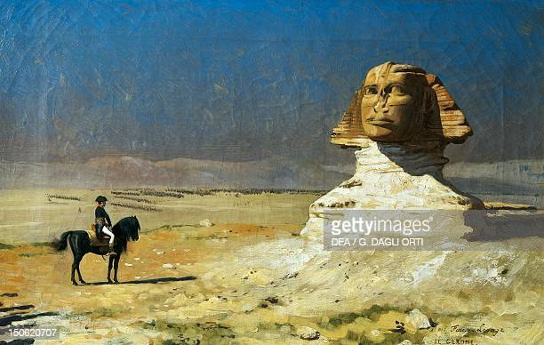 General Bonaparte in Egypt by JeanLeon Gerome 927 x137 cm French Revolutionary Wars Egypt 18th century