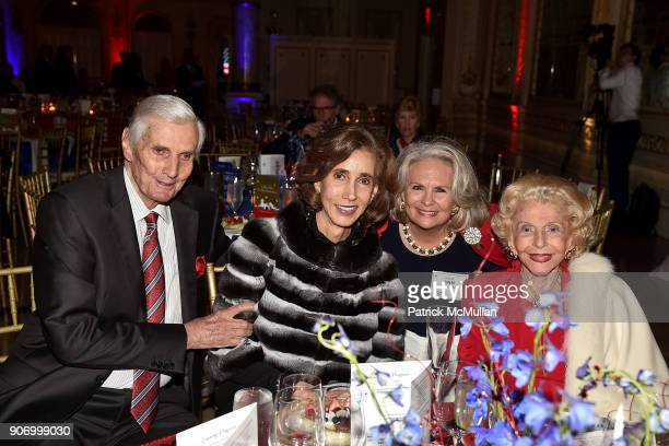 General Carter Clark Irene Athens Judge Ann Vitunac and Herme de Wyman Miro attend President Trump's one year anniversary with over 800 guests at the...