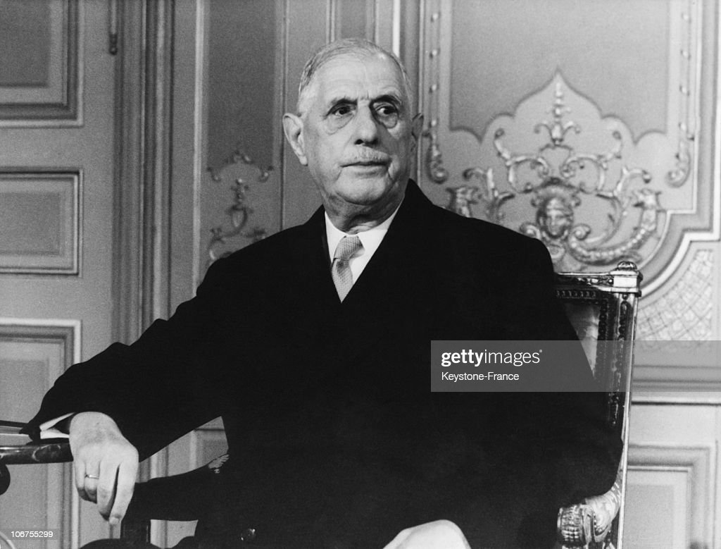 General Charles De Gaulle, 1968 : News Photo