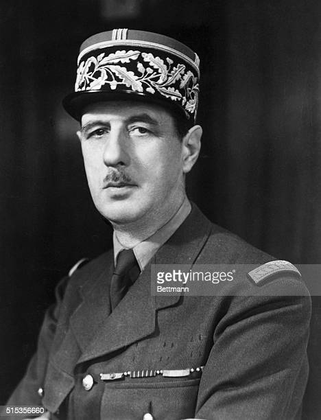 General Charles de Gaulle a pioneer of modern warfare who demonstrated great ability as a leader during World War II