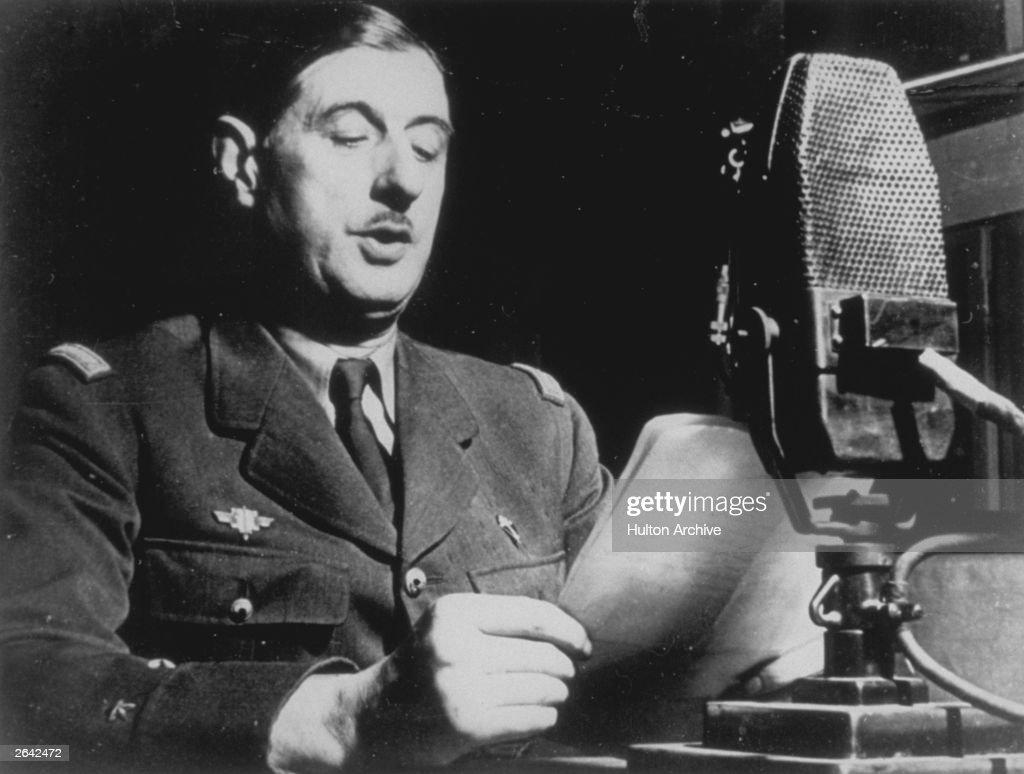 Charles De Gaulle : News Photo