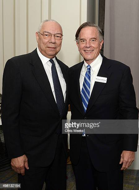 General Colin Powell and Concordance Academy of Leadership President and CEO Danny Ludeman attend The Concordance Academy Of Leadership Gateway Gala...