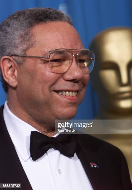 S General Colin Powell at the 71st Annual Academy Awards March 21 1999 In Los Angeles California