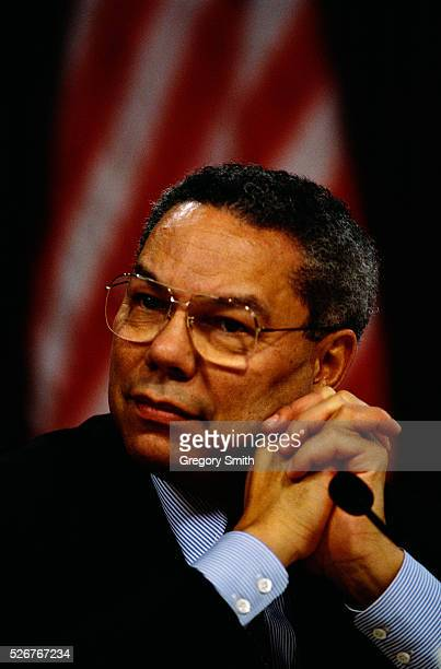 General Colin Powell former chairman of the Joint Chiefs of Staff will receive the first Enron Prize for Distinguished Public Service during the...