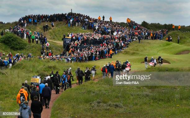 General course view of the 12th hole during the second round of the 146th Open Championship at Royal Birkdale on July 21 2017 in Southport England