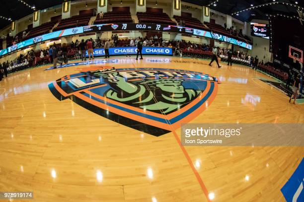 General court view of the Westchester County Center during the second half of the WNBA game between the Atlanta Dream and New York Liberty on June 19...
