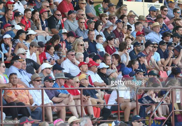General crowd shot during the NRC Semi Final match between Queensland Country and Fijian Drua at Clive Berghofer Stadium on November 5 2017 in...