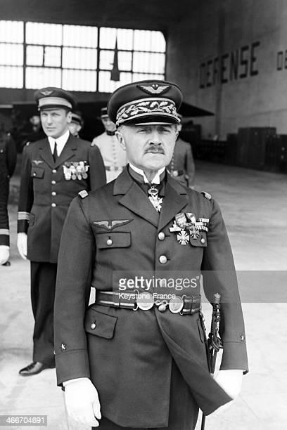 General de Vergnette de Lamotte commander of Le Bourget air base in Le Bourget France