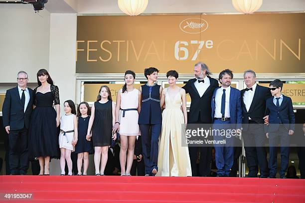 General Delegate of the Cannes Film Festival Thierry Fremaux actress Monica Bellucci Eva Morrow MariaStella Morrow Agnese Graziani Maria Alexandra...