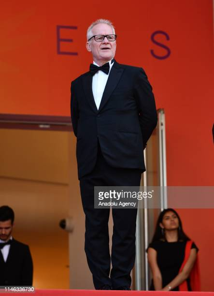 General Delegate of the Cannes Film Festival Thierry Fremaux arrives for the Closing Awards Ceremony of the 72nd annual Cannes Film Festival in...