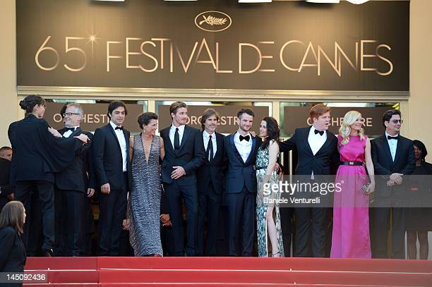 General Delegate of the Cannes Film Festival Thierry Fremaux producers Charles Gillibert Rebecca Yeldham actor Garrett Hedlund director Walter Salles...