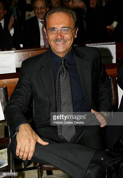 General Director Mauro Masi attend 'I Promessi Sposi' Reading held at the Duomo of Milan on April 29, 2010 in Milan, Italy.