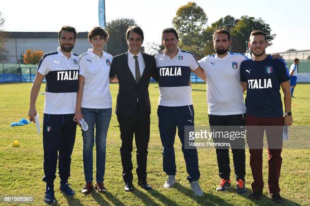 General Director Michele Uva attends during the Italian Football Federation Unveils New Regional Federal Training Center In Alba at Auditorium...