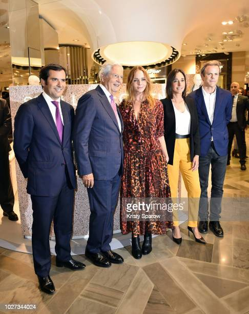General Director of Galeries Lafayette Nicolas Houze Chairman of the Board of Galeries Lafayette Group Philippe Houze Designer Stella McCartney...