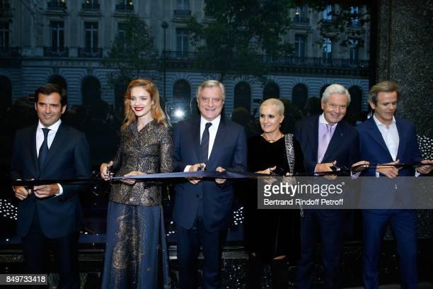 General Director of Galeries Lafayette Nicolas Houze Natalia Vodianova CEO of Dior Sidney Toledano Stylist of Dior Maria Grazia Chiuri Chairman of...