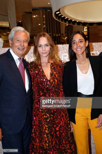 General Director of Galeries Lafayette Nicolas Houze Stylist Stella McCartney and Secretary of State to the Minister of the Ecological and Solidarity...