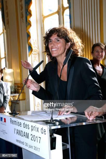 General Director of 'Yves Saint Laurent' Francesca Bellettini attends the ANDAM 2017 Prize Winner Cocktail at Ministere de la Culture on June 30 2017...
